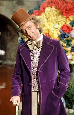 David Wood looks like Willie Wonka